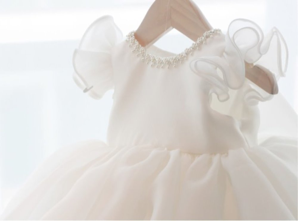 crown angel dress